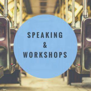 Speaking & Workshops